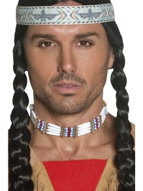 Authentic Western Indianen Ketting.