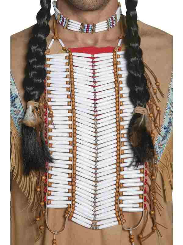 Western Authentic Indianen Borstketting.