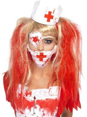 Halloween Blood Nurse Zuster Verkleedsetje