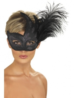 Ornate Colombina Oogmasker