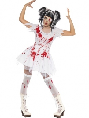 Horror Dolita Pop Halloween Dames Kostuum