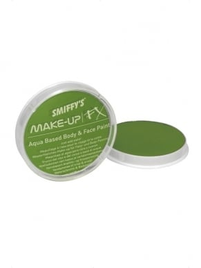 Lime Groene Make-Up FX Schmink Op Waterbasis