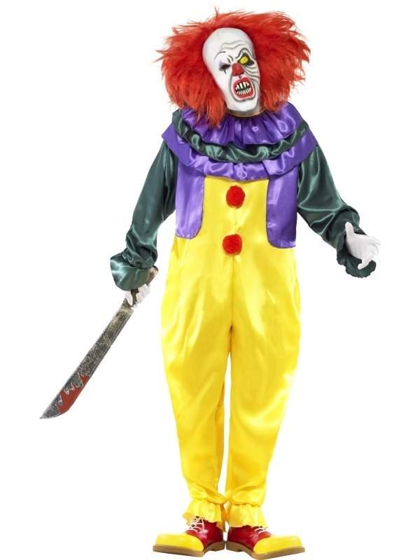 Verwonderlijk Klassieke Horror Clown Horror Halloween Kostuum OD-54