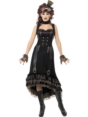 Steam Punk Vampieren Halloween Kostuum