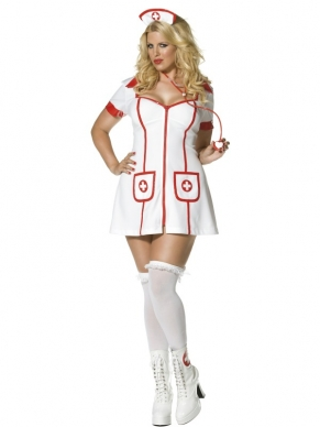 Envy Hot Nurse Zuster Verkleedkostuum