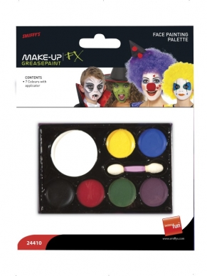 Make Up FX Palet 7 Kleuren Schmink Op Waterbasis
