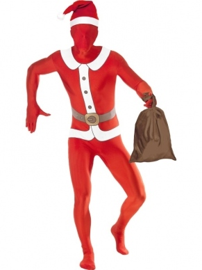 Kerstman Second Skin Morph Suit