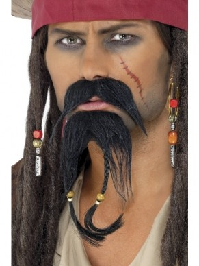 Pirates of the Caribbean Piraten Snor en Baard