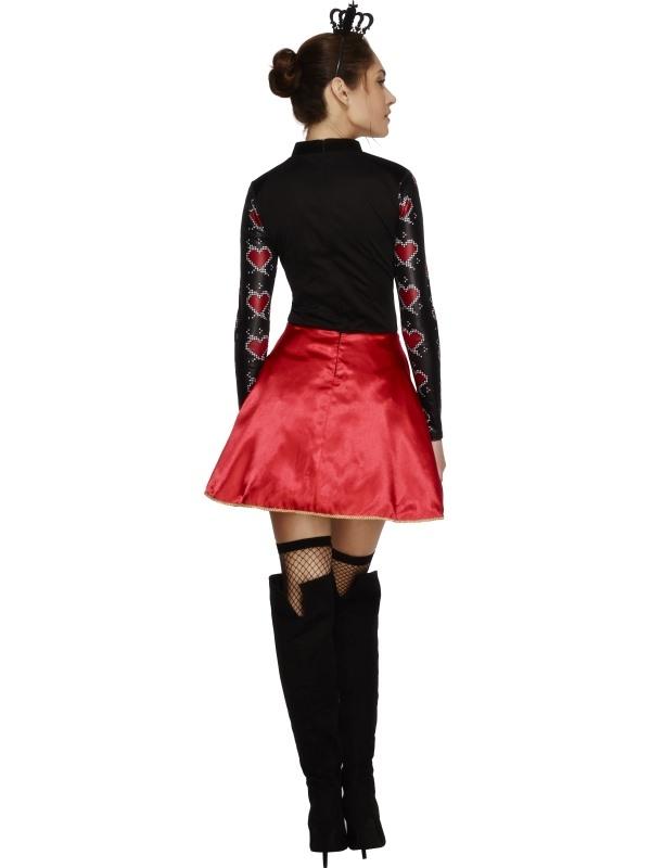 Fever Queen Of Hearts Kostuum
